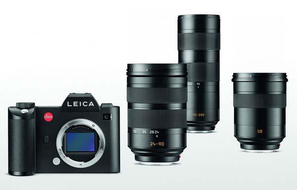 Leica SL lenses