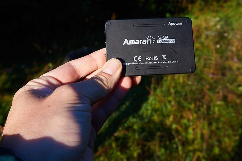 Aputure Amaran  AL-M9 (2)