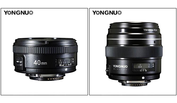 Yongnuo 40 mm f2.8