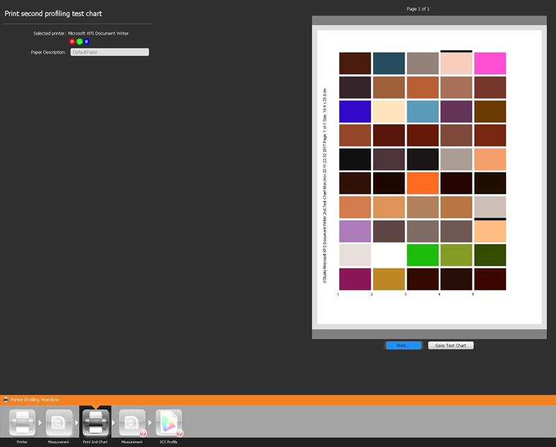 genrarer chart 2 culori