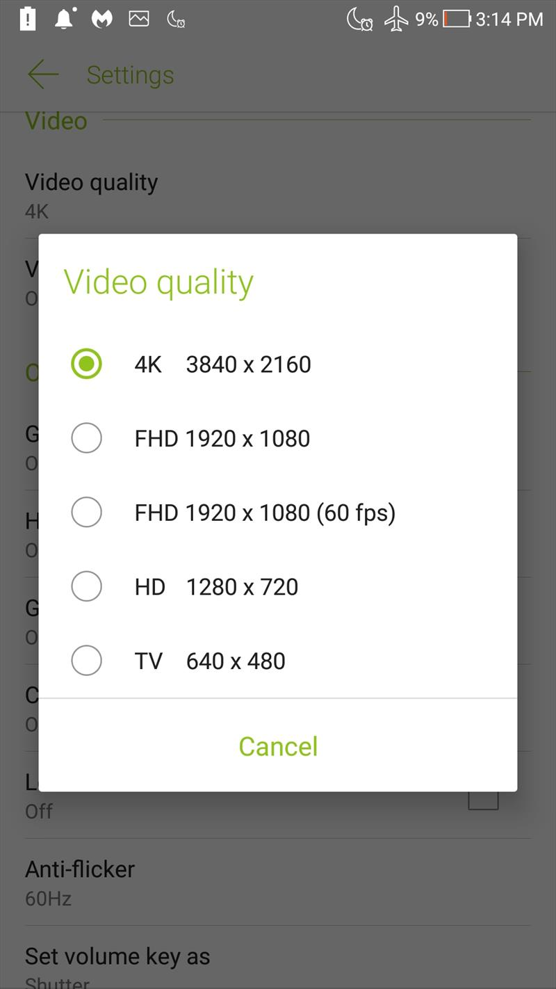 Meniu Camera ZenFone 4 (9)