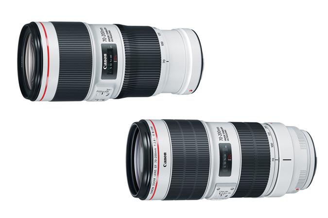 Canon-EF-70-200MM-F4L-II-USM-and-EF-70-200MM-F2.8L-IS-II-USM-lenses
