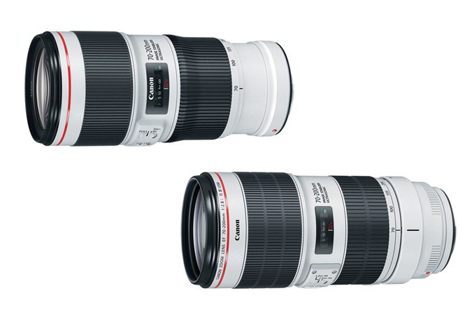 Canon-EF-70-200MM-F4L-II-USM-and-EF-70-200MM-F2.8L-IS-II-USM-lenses
