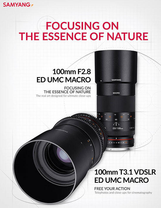 Samyang-100mm-f2.8-and-100mm-T3.1-VDSLR-ED-UMC-MACRO-lenses-officially-announced