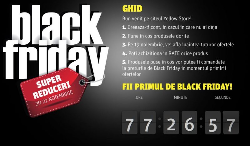 black friday la yellow store