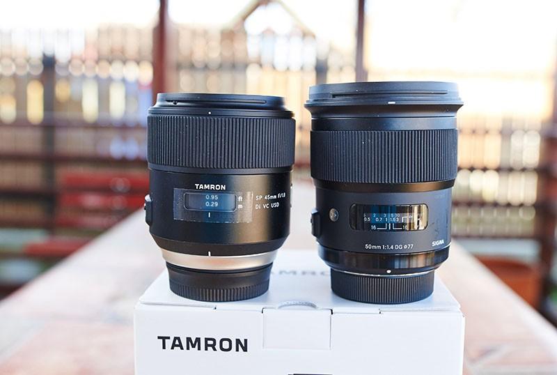 Tamron 45 mm f1.8 SP