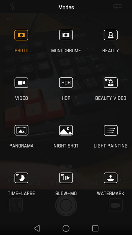 Huawei P9 - Moduri foto