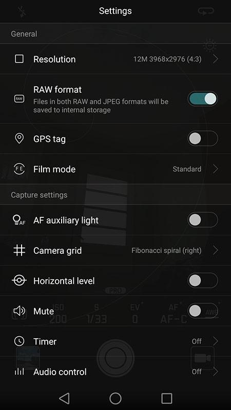 Huawei P9 - Moduri foto III