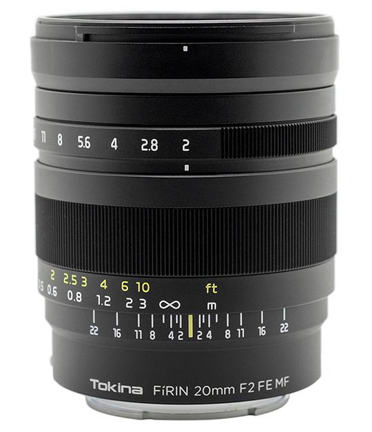 Tokina-Firin-20mm-f2-FE-MF-full-frame-lens