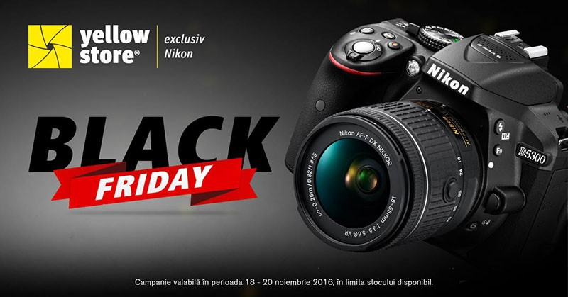 Black Friday 2016 la Yellowstore