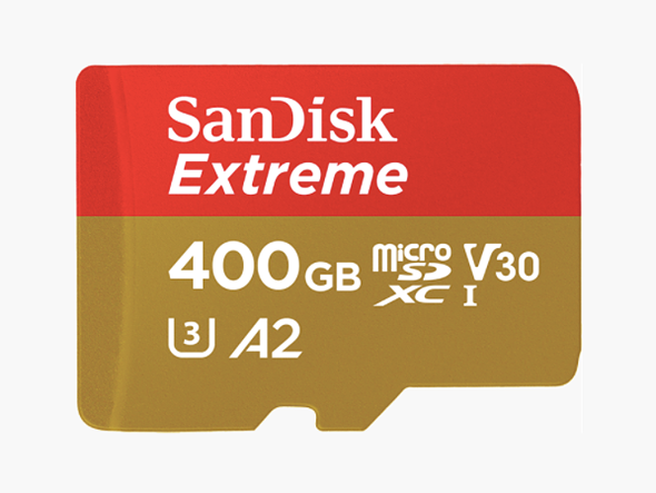 SanDisk Extreme microSDXC UHS-I - U3 - V30
