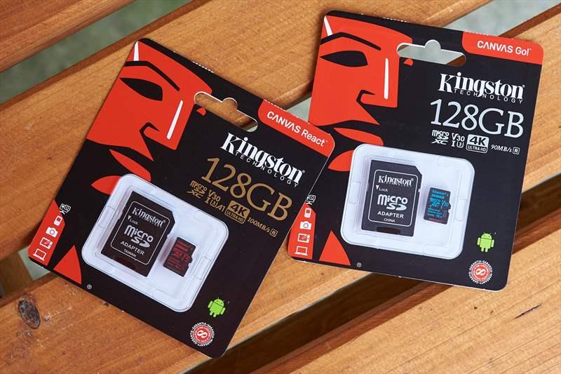 Kingston Canvas Go si React micro SD (2)