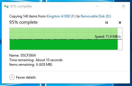 Kingston Canvas React SDXC Transfer Final