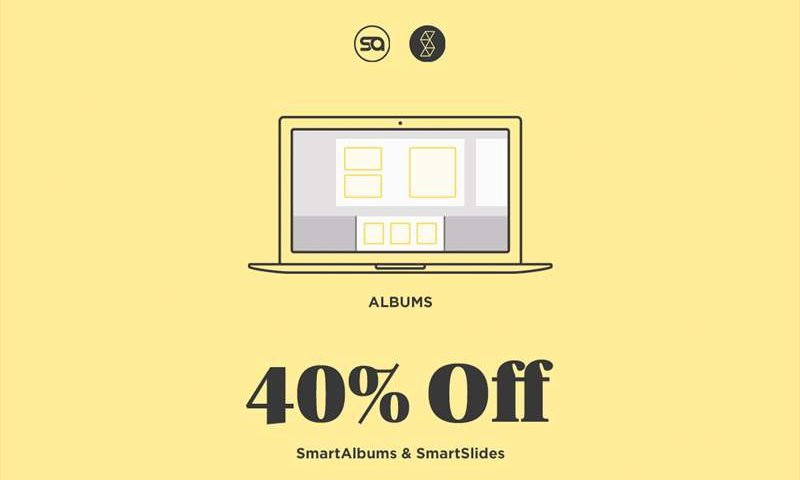 Pixellu Smart Albums 2 - Pixellu SmartSlides - Black Friday 2018