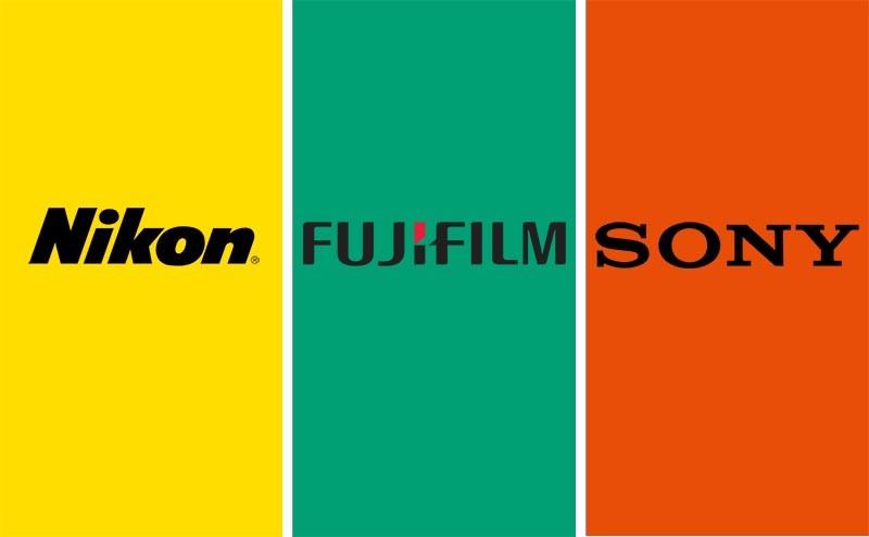 sony - fujifilm - nikon