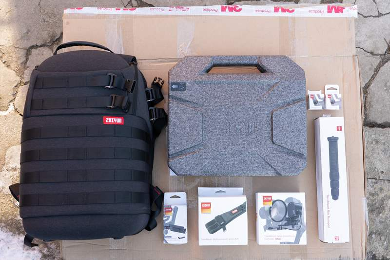 Zhiyun Weebill Lab Review - Unboxing (2)