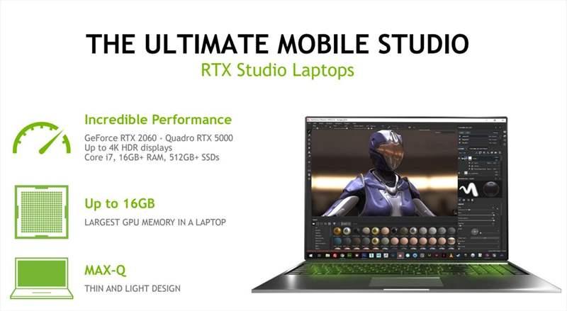 Nvidia Studio - Quadro RTX - GeForce RTX (4)
