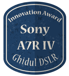 Badge Inovation - A7R IV