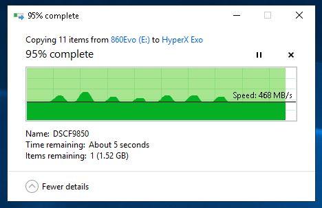Citire de pe 970 Pro - 860 EVO