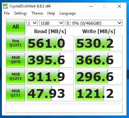 Crystal Disk - 860 eVO