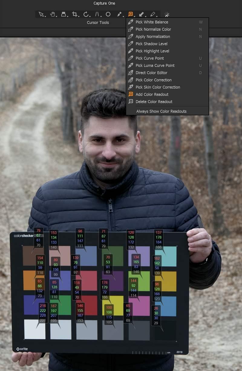 Capture One 20 Pro - Color checker (5)