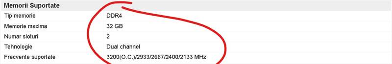 RAM Compatibil MB 2