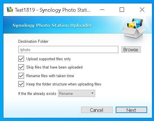 Configurare Profil Upload Windows 5